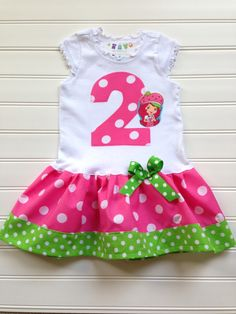 e06a19a1e 17 Best Boutique Girls Spring Summer Strawberry