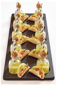 Mini Appetizers, Wedding Appetizers, Appetizer Recipes, Wedding Canapes, Shot Glass Appetizers, Dinner Party Appetizers, Shower Appetizers, Appetizer Buffet, Mini Aperitivos