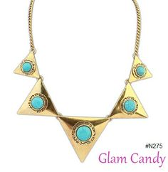 Shop: www.worldofglamoursa.com #GlamCandy #necklace