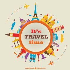 It's travel time Más