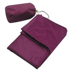 $11.99 Embark Travel Blanket with Stuff Sack - Berry