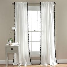 Lush Decor Pom Pom 84-inch Curtain Panel - Overstock Shopping - Great Deals on Lush Decor Curtains