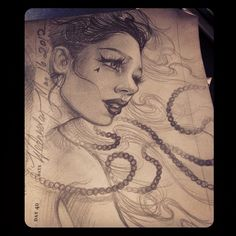 Sketch by Kat Von D