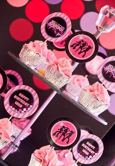 Disco themed birthday party