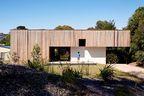 Exterior facade of an Australian vacation home