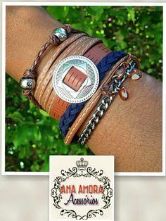 Mix pulseiras  #lindo #perfeito
