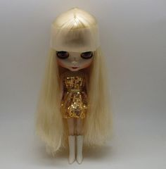"""Takara 12"""" Neo Blythe Doll from Factory Nude Doll + case + Doll stand #12 #Takara"""