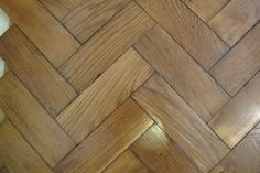 Reclaimed Solid Oak Herringbone Parquet