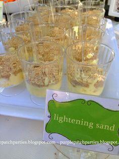 Princess Bride Backyard Movie Night Party ~ Lightening Sand