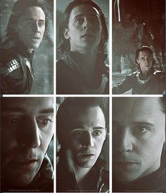 Tom Hiddleston -- hadn't seen the top right panel before. I like.