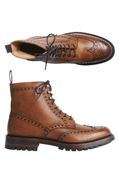 Toast x Joseph Cheaney and Sons brogue boots