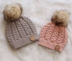 19 Winter Hat Crochet Patterns - A More Crafty Life