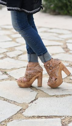 fc21596bd414 12 Chic Style Shoes You Need Right Now For This Season Bedstu Cindy heel in  tan. Perfect for a night out