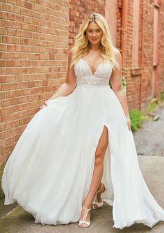 953758be11 8 Best 2019 Justin Alexander Plus Size Wedding Dresses images