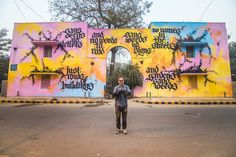 Indian artists have been joined by counterparts from around the world, including countries like Japan, Netherlands and France. | Delhi's Been Taken Over By Incredibly Cool Street Art