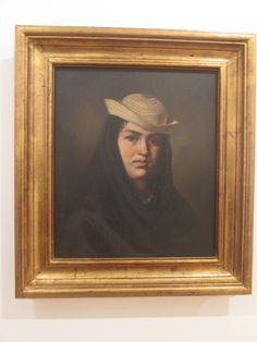 Felipe Santiago Gutierreez  Texcoco - Mexico 1824-1904  La Corrosca 1875 Oleo sobre tela.