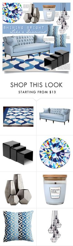 """""""Shining Bright"""" by tammara-d ❤ liked on Polyvore featuring interior, interiors, interior design, home, home decor, interior decorating, Balmain, nuLOOM, Theodore Alexander and Takeru Amano"""
