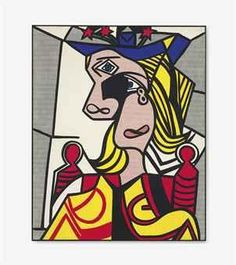 Roy Lichtenstein (1923-1997) | Woman with Flowered Hat | Post-War & Contemporary Art Auction | 20th Century, Paintings | Christie's