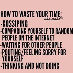 Well now you know what not to do today! Join the #Bossbabe Netwerk™ (Click The Link In Our Profile Now! )