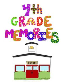 Your students will have fun making this memory book that will be a lasting keepsake for years to come! Instead of a book all about themselves, they will have a fun class book where they can go back and see not only their favorite memories of the year but also their friends and teacher's. Available for Grades 1-5.