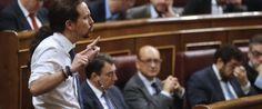"""La réplica de Rajoy a Iglesias tras las acusaciones por corrupción del PP: """"Menos mal que no es Robespierre"""""""