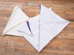 DIY-Anleitung: Einfachen Origami-Shopper nähen via DaWanda.com
