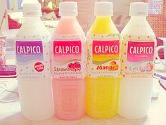 Love these yogurt #rainbow #kawaii #drinks I wish I had an unlimited supply of calpis drinks!!!!,,, i wanna try except the mango