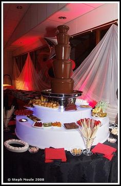 Image detail for -james bond theme party chocolate foun James Bond Wedding, James Bond Party, James Bond Theme, Chocolate Fountain Recipes, Chocolate Fountains, Vegas Theme, Vegas Party, 21st Party, Gatsby Party