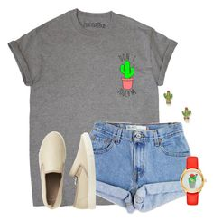 """Can't touch this"" by flroasburn ❤ liked on Polyvore featuring Levi's, Gap and Kate Spade"