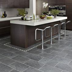 Karndean Knight Tile Cumbrian Stone ST14 Vinyl Flooring