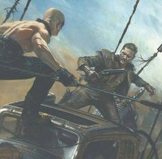 Fury Road piece posted by @itscrisde