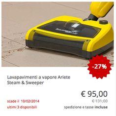 #Lavapavimenti #vapore #Ariete #Steam #Sweeper