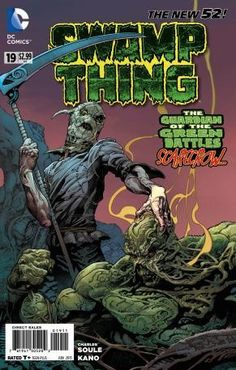 Swamp Thing - Urban Jungle released by DC Comics on June Best Comic Books, Comic Books Art, Comic Book Characters, Comic Character, Love And Rockets, Dc World, New 52, Gothic Horror, Joker And Harley