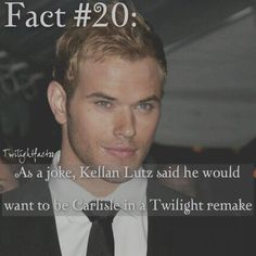 """134 Synes godt om, 1 kommentarer – Twilight Facts (@twilightfactss) på Instagram: """"~ I can't really picture him as Carlisle though. He played Emmett so well - Autumn…"""""""