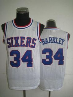 e0d003627 Philadelphia Cheap NBA White Charles Barkley Soul Swingman Jersey