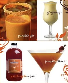 Cheeky Chic: Adult Trick-or-Treating... Awesome fall cocktails!