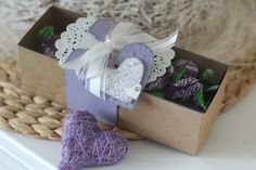 Heart gift box for Valentines  #stampinup