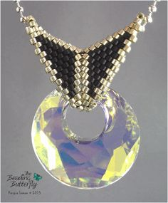 Butterfly Bail Kit - Victory Pendant - Click Image to Close