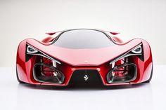 Ferrari Supercar Concept by Adriano Raeli. Italian designer Adriano Raeli reveals the unofficial successor to the Ferrari LaFerrari Ferrari F80, Pink Ferrari, Maserati, Ferrari 2017, Pink Bmw, Automobile, Bmw Autos, Auto Motor Sport, Sweet Cars