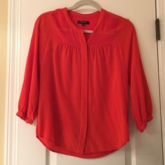 Madewell Button-up Blouse silky blouse, barely worn Madewell Tops Blouses