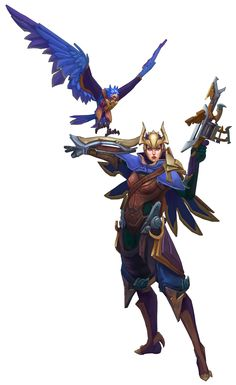 Quinn & Valor, League of Legends