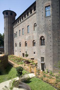 Il giardino medievale di @Jess Pearl Pearl Pearl Liu Palazzo Madama.TORINO