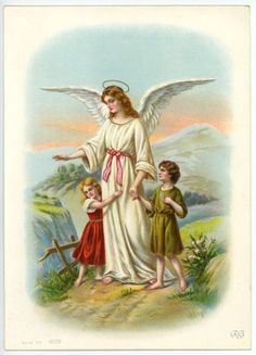 engelbewaarder Jesus Pictures, Art Pictures, Oya Goddess, Benfica Wallpaper, Guardian Angel Pictures, Gardian Angel, Vintage Holy Cards, Angel Drawing, I Believe In Angels