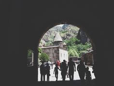 Armenia. Vistas de Geghard