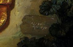 Rembrandt, The Abduction of Europa, 1632, detail