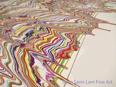 """""""Paul"""", x Acrylic on canvas by Sann Sann Lam Fine Art, Abstract, Canvas, Artwork, Painting, Art Work, Work Of Art, Auguste Rodin Artwork, Painting Art"""
