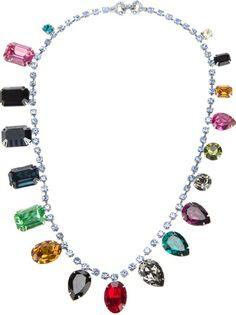 TOM BINNS Crystal Necklace