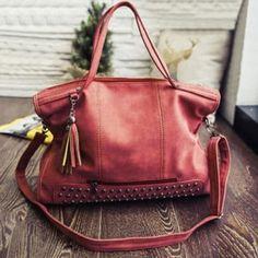 GET $50 NOW | Join Dresslily: Get YOUR $50 NOW!https://m.dresslily.com/tassel-rivet-tote-handbag-product1648588.html?seid=46Cv50lffrpv868hAr28htA4nG