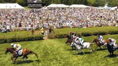 Iroquois Steeplechase...this has been a dream since childhood!