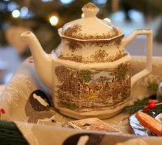Aiken House & Gardens ~ A Winter Tea